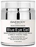 #10: Baebody Blue Eye Gel for Dark Circles & Wrinkles  w Mediterranean Blue Algae Extract  Intensive Eye Gel for Under and Around Eyes  1 fl oz