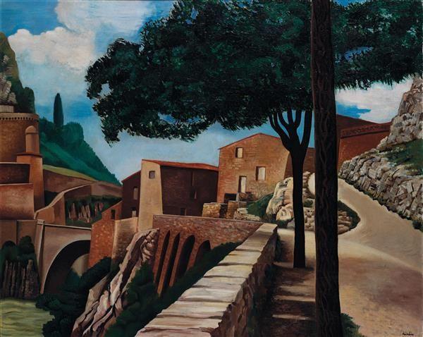 A PROMINENT 20TH CENTURY EUROPEAN COLLECTION December, 8th Auguste #HERBIN (1882-1960) Pont de Sisteron, 1924 Huile sur toile Signée en bas à gauche 81 x 100 cm Estimation : € 80,000-120,000