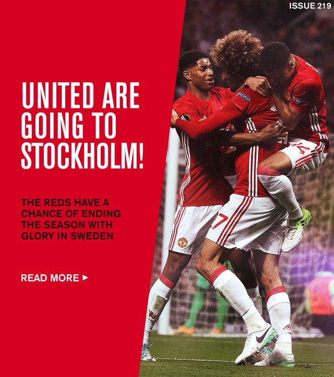 United are going to Stockholm!