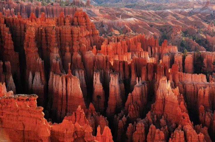 Paisaje-natura: Este es el aspecto de las llamadas chimeneas de hadas del Parque Nacional del Cañón Bryce, en Utah, por 李从军 / Austin Li