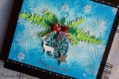 Papierowy Skrawek: Zimowo-świąteczny art journal