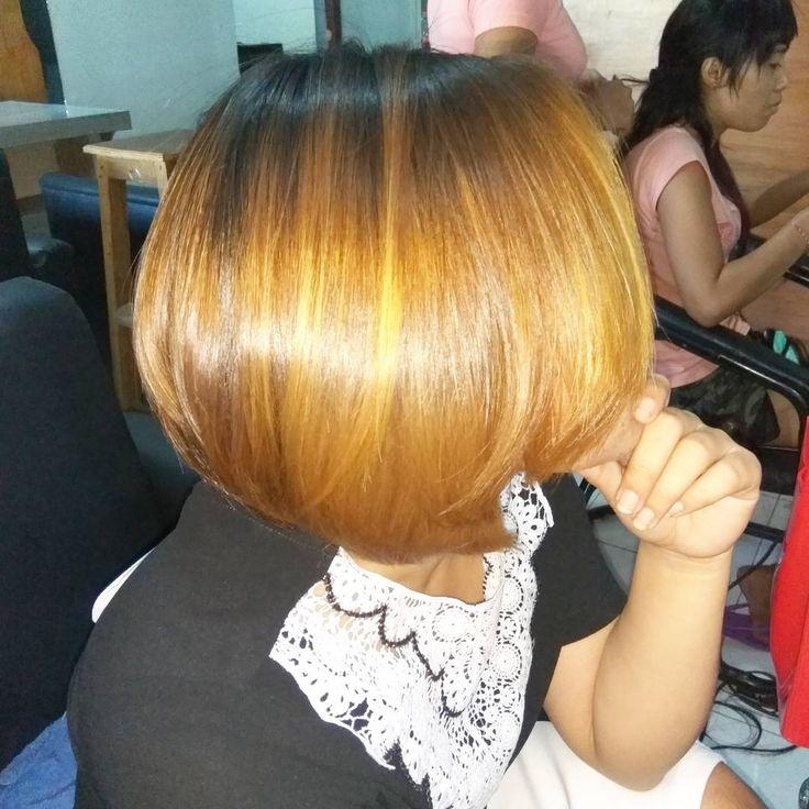 Rambut pendek buat hari hari mu lebih nyaman👰👯👱#hairbob