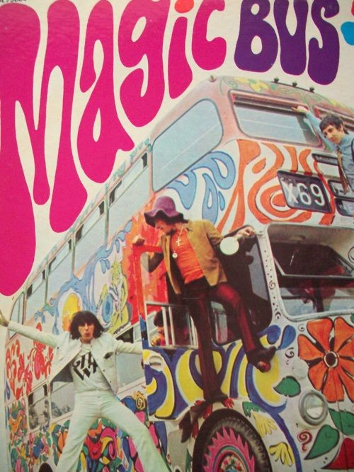 ☯☮ॐ American Hippie Psychedelic Classic Rock Music ~ The Who Magic Bus