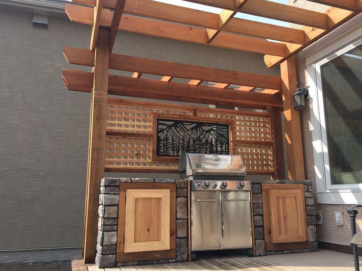 Custom outdoor kitchen www.thelittledecker.ca