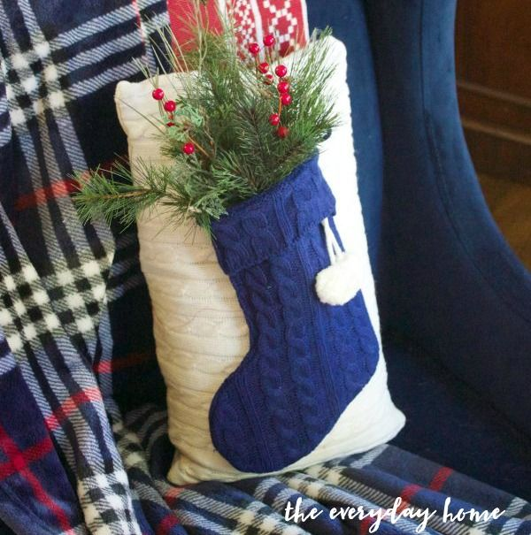 A Christmas pillow you can make in minutes (for under $5!) & 1248 best farmhouse style images on Pinterest | Bedroom ideas ... pillowsntoast.com