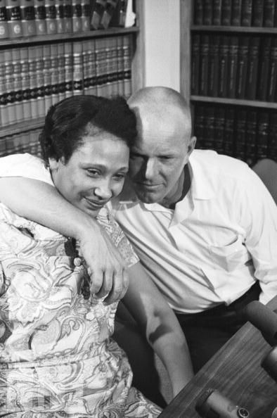 The Lovings Celebrate Supreme Court Victory  •    Mildred and Richard Loving embrace after the Supreme Court rules they can be legally married, 1967. Afterward, anti-miscegenation laws across the country began to be struck down. The court, in a unanimous verdict, overturned Virginia's anti-miscegenation statute, which had resulted in the Loving's arrest shortly after their 1958 marriage.