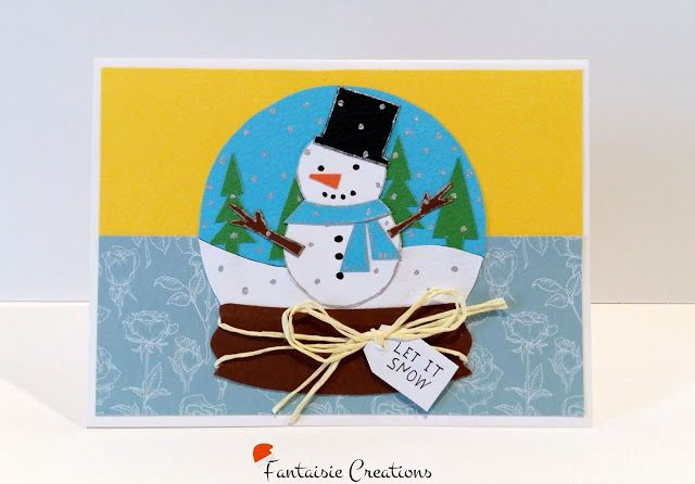 Fantaisie Creations: Χριστουγεννιάτικες Κάρτες