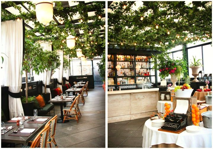 Gramercy Park Hotel Terrace Bar Restaurant Nyc Midtown Chelsea Flatiron District Union Square