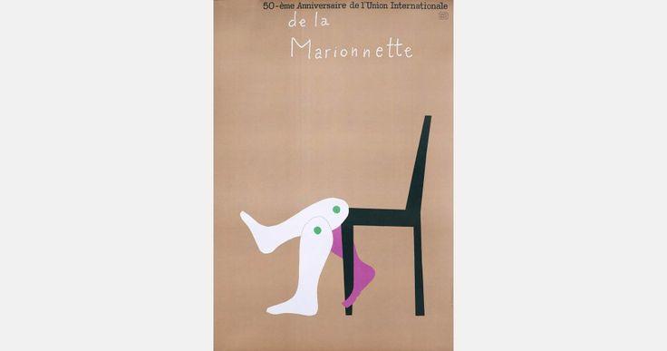 Henryk Tomaszewski, 50-éme Anniversaire de l'Union Internationale de la Marionnette, 1978, image courtesy of Filip Pągowski