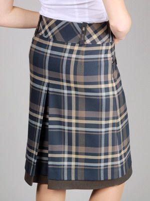 Женские модные юбки 2016: фото моделей в клетку, макси, зимние тенденции