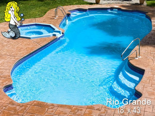 30 Best Images About 8 39 Depth Fiberglass Pools On