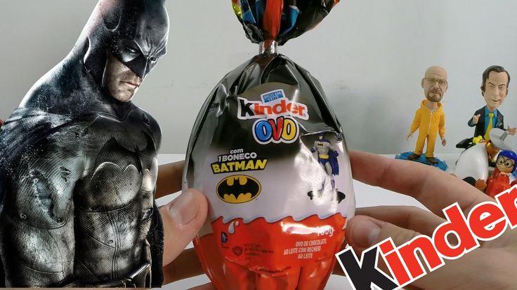 Ovo De Páscoa Kinder Ovo Surpresa do Batman Gigante 2015