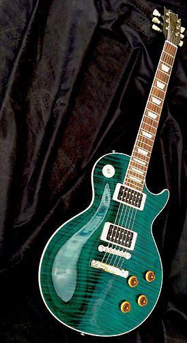 2008 RARE Gibson Custom Shop Les Paul Standard Custom Color Flame Top