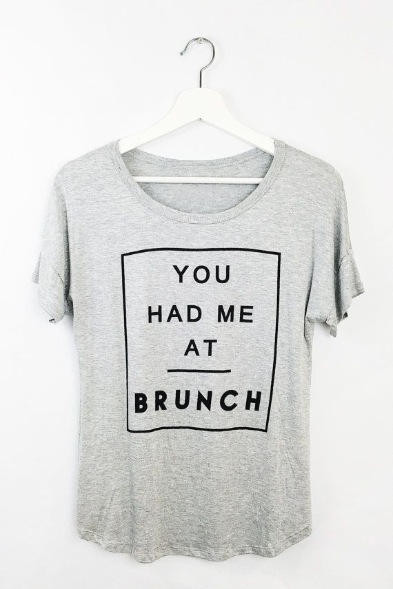 You Had Me At Brunch Shirt by AMOXTLILA on Etsy
