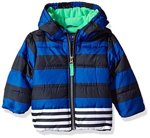 56e23e17c6c1 OshKosh B Gosh Osh Kosh Baby Boys Printed Puffer Jacket Coat