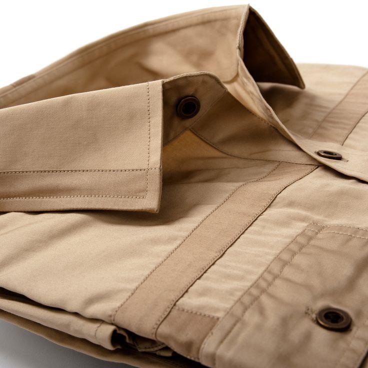 The Emissary Work Shirt – Khaki