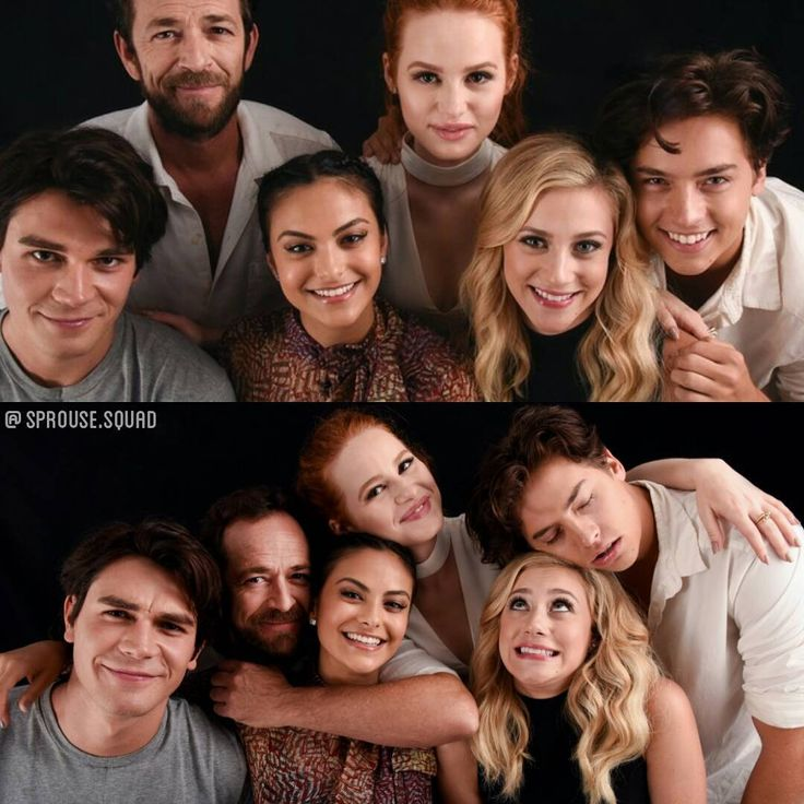 Riverdale cast being cute