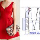 vestido vermelho de louisa clark