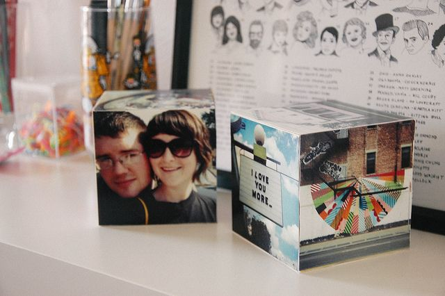 DIY Instagram Cubes