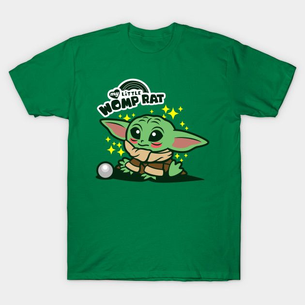 My Little Womp Rat Baby Yoda T Shirt The Shirt List Yoda T Shirt Shirt Gift Star Wars Baby An ode to baby yoda and some of the best moments from season 1 of the mandalorian. pinterest