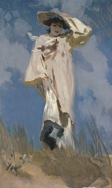 http://radstudies.tumblr.com: John Singer Sargent (1856-1925), A Gust of Wind