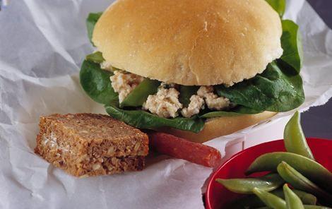 Torskerognssalat til madpakker