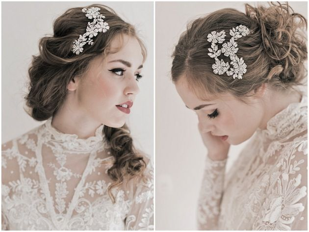 Romantic bridal accessories by Enchanted Atelier's Fall/Winter 2013 Collection inspired by Jane