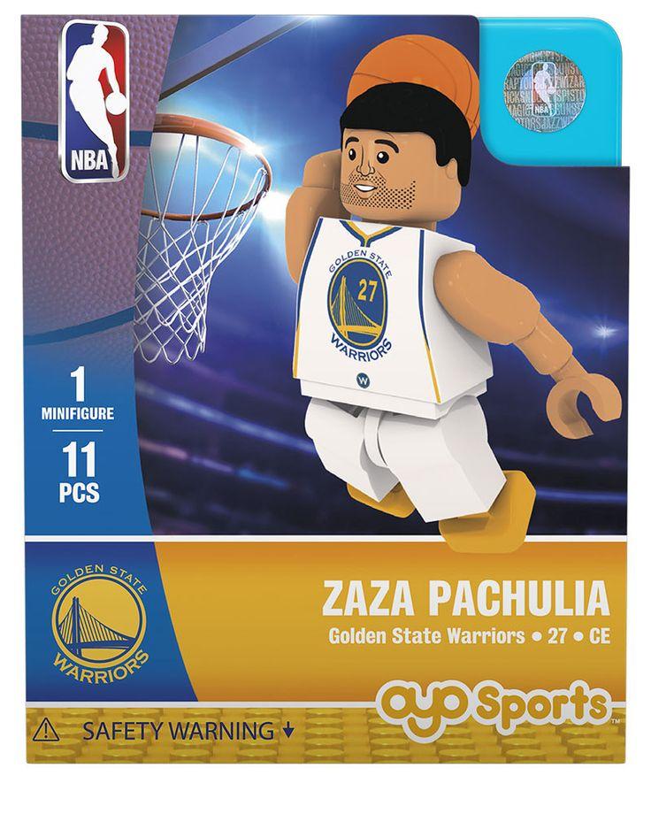 Golden State Warriors ZAZA PACHULIA Home Uniform Limited Edition OYO Minifigure