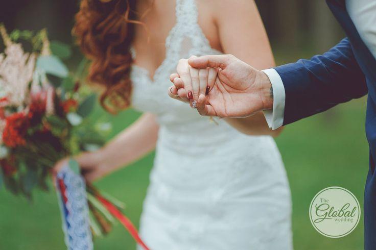 Berry wedding Bouquet Ягодная свадьба Лесные ягоды Букет невесты