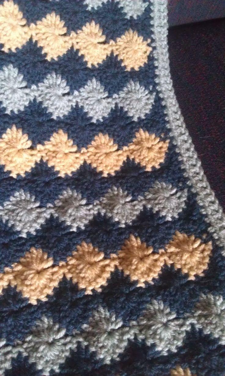 Catherine Wheel Stitch Lapghan Crochet 29 Quot X40 Quot Easy