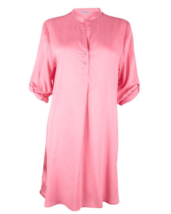 Nora Rose Coral Woven Nightshirt £27.00