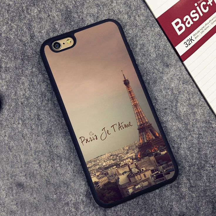 >> Click to Buy << paris france eiffel tower Printed Phone Case Skin For iPhone 6 6S Plus 7 7 Plus 5 5S 5C SE 4 4S Rubber Soft Cell Housing Cover #Affiliate