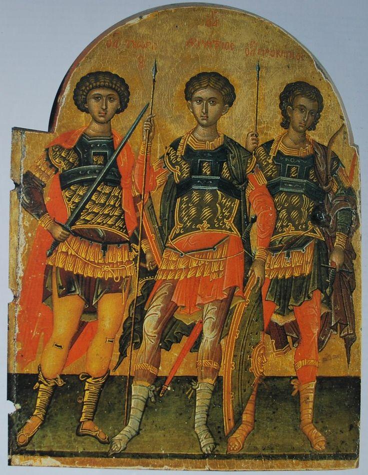 Блог Николая Подосокорского 21+ - Иконы из монастыря св. Екатерины (Синай)