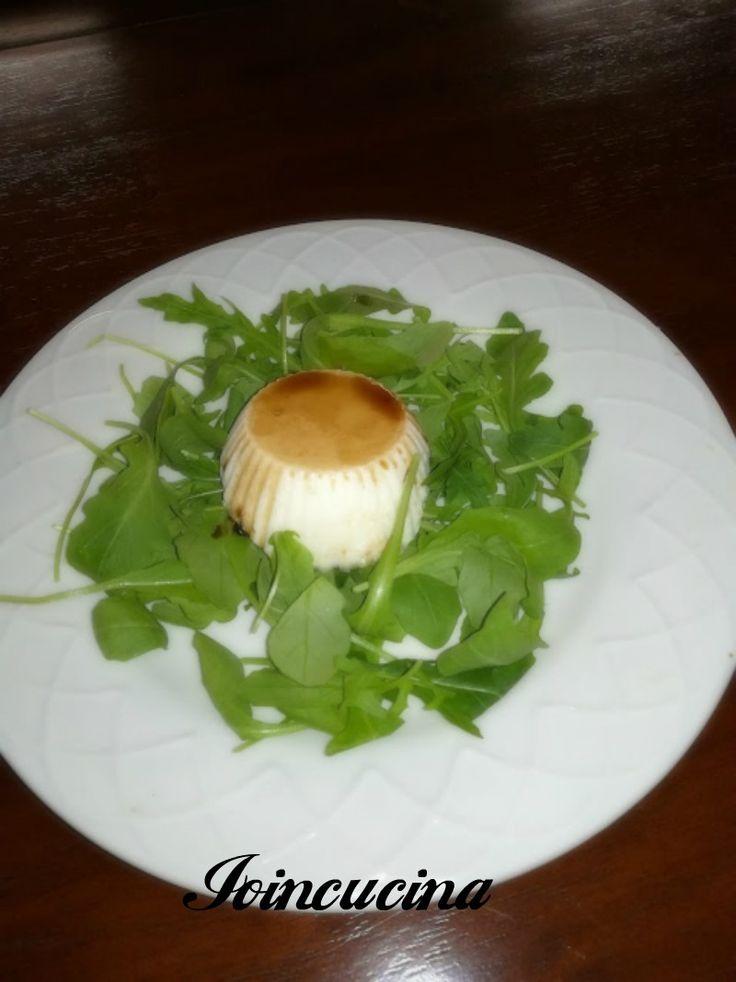 Panna cotta al parmigiano con aceto balsamico