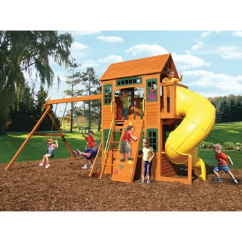 16 Best Wood Outdoor Playsets Images On Pinterest