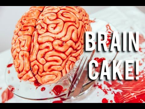 Red velvet brain cake is the stuff delicious nightmares are made of