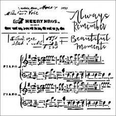 Always the Music-Stencil