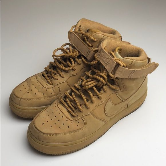 uk availability ea58a 436d7 Nike Air Force 1 High LV8 (GS) Wheat Color Very much used ...