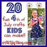 20 4th of July Crafts for KidsJuly 4Th Crafts, Crafts For Kids, Crafts Ideas, July Crafts, Crafts Kids, Kids Crafts, 4Th Of July, July Ideas, July Buttons
