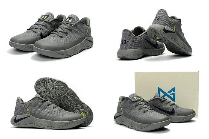 pretty nice 07506 6fde8 2017-2018 Newest And Cheapest Nike PG 2 II Wolf Grey Olive Green Polarized  Blue