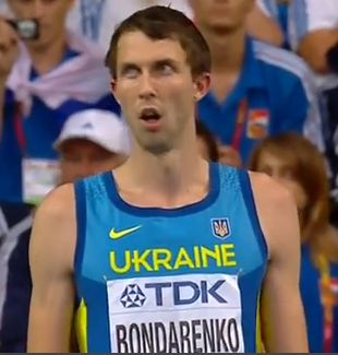 Bohdan Bondarenko pecahkan rekor kejuaraan dunia lompat tinggi putra yang telah bertahan selama 20 tahun