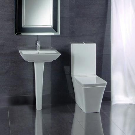 Toilet   Basin Suite   RAK Opulence Set  Toilet   Basin The Rak Opulence is  a complete collection containing many unique features including a shrouded. 17 Best images about Modern Toilet   Basin Suites on Pinterest