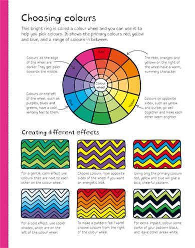 151 best images about elements and principles of art for Color wheel examples