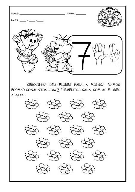 Atividades Infantis: Atividades matemáticas
