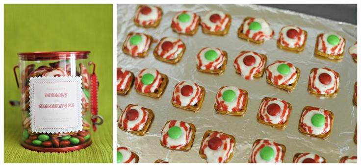 Inexpensive diy christmas gift for teacher pretzel