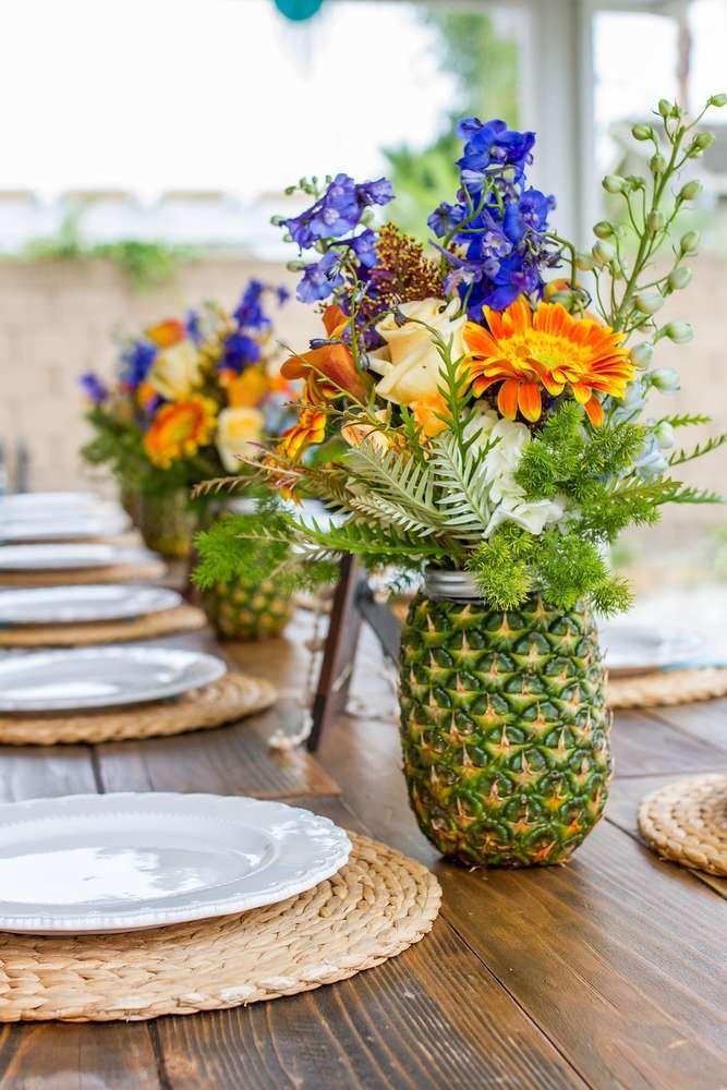 Vintage Luau / Vintage Hawaiian Birthday Party Ideas | Photo 1 of 75 | Catch My Party