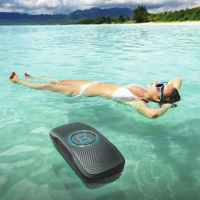 Monster's 'Backfloat' Speaker Boasts Durable Waterproof Features #speakers trendhunter.com