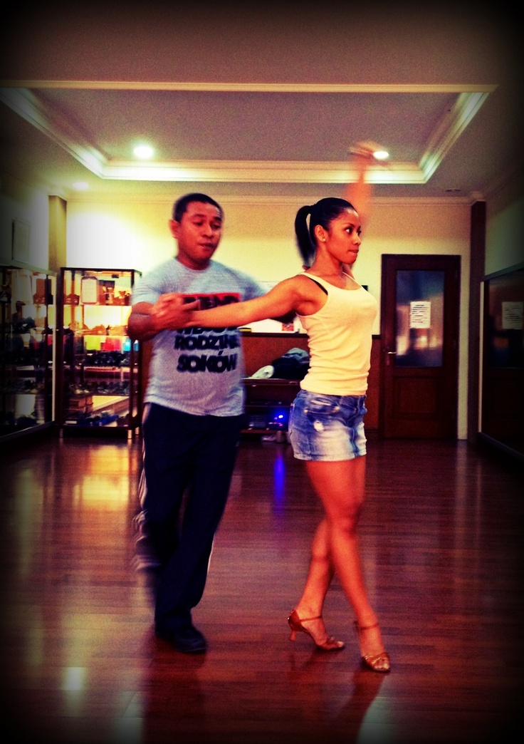 Salsa training with my favorite coach! #salsa #dancing