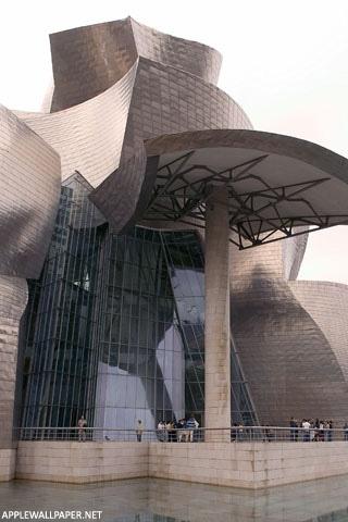Museo Guggenheim Bilbao - Arquitecto: Frank Gehry. Entre sus obras mas destacadas podemos mencionar Casa Frank Gehry (California), Museo Guggenheim  (Bilbao España), Hotel Marqués de Riscal (El ciego, España), Casa Danzante (Praga  República Checa), Edificio del Banco DG (Berlín Alemania).