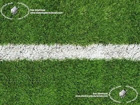 Textures Texture seamless | Green synthetic grass sports field with white line texture seamless 18710 | Textures - NATURE ELEMENTS - VEGETATION - Green grass | Sketchuptexture
